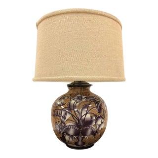 Gio Ponti for Richard Ginori Ceramic Lamp For Sale