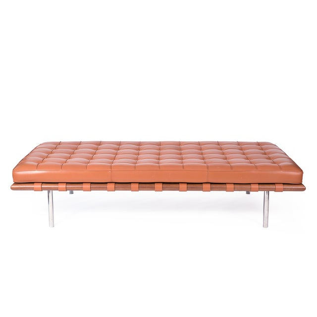 Bauhaus 1980s Mies Van Der Rohe Knoll Barcelona Daybed For Sale - Image 3 of 6