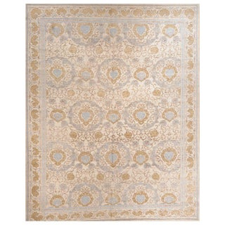 Stark Studio Rugs Traditional New Oriental Tibetan Wool Rug - 8′ × 10′ For Sale