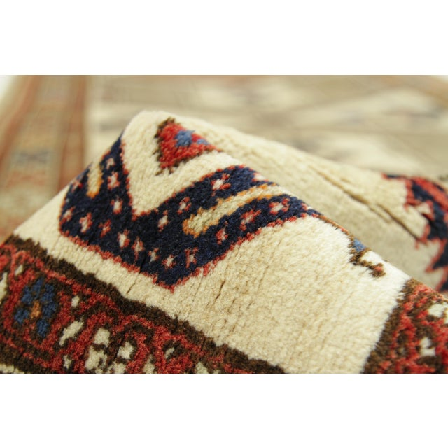 Antique Persian Sarab Rug With Incredibly Detailed Tribal Design - 3′9″ × 15′4″ For Sale In Dallas - Image 6 of 11