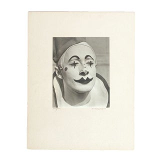 1939 Vintage Clown Photograph