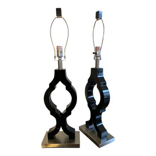 1960s Style Retro-Chic Lamps - A Pair For Sale