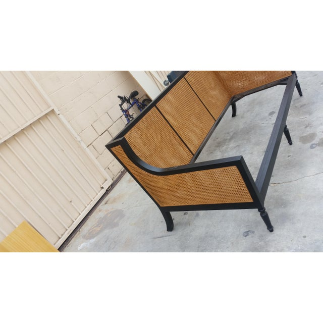 """Modern Custom to Order """"La Made"""" Collection Bench For Sale - Image 3 of 6"""