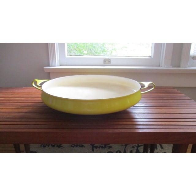 Jens Quistgaard Dansk Mid-Century Modern Yellow Paella Pan - Image 5 of 11