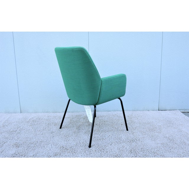Green Modern Brian Kane for Coalesse and Steelcase Bindu Green Guest Chair For Sale - Image 8 of 13