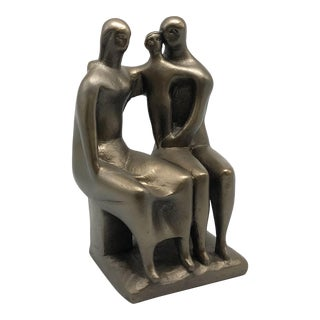 """Mid-Century """"Family"""" Sculpture by Austin Productions For Sale"""