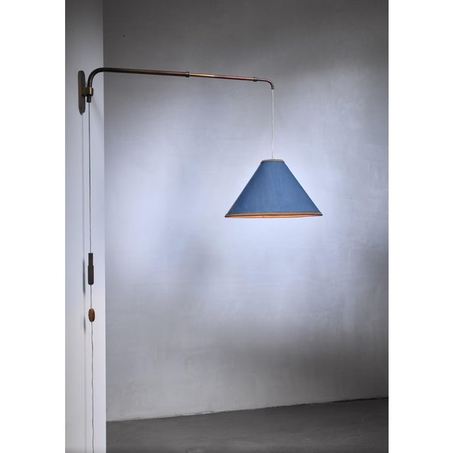 1940s Early Gino Sarfatti Telescope Wall Lamp, Italy, 1940s For Sale - Image 5 of 6