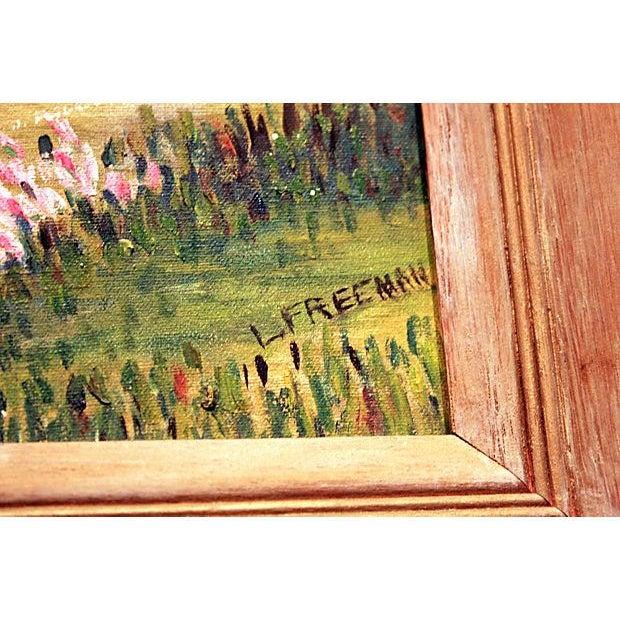 Original Framed Landscape Painting - Image 3 of 5