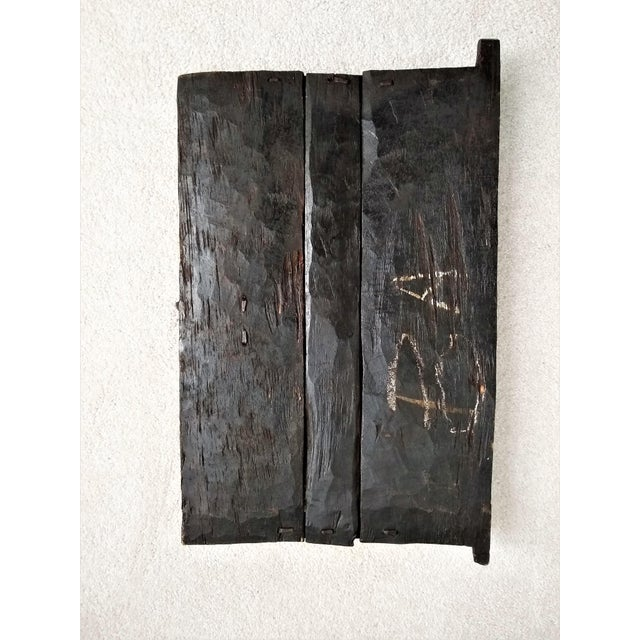 Early 20th Century African Carved Granary Door From Africa - Mali For Sale - Image 10 of 11