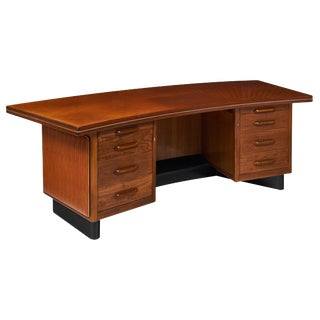 Mid-Century Rosewood Desk by Castelli For Sale