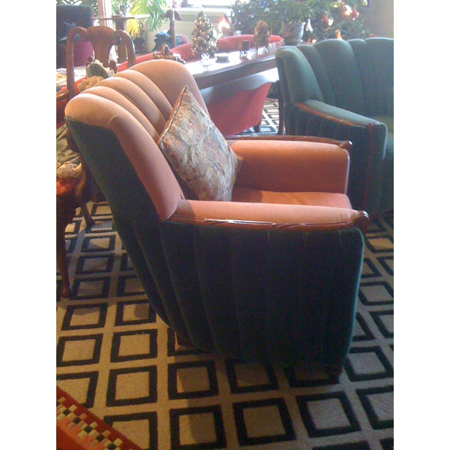 1920s Art Deco Club Chair - Image 3 of 3