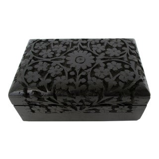 Stained Decorative Wood Box
