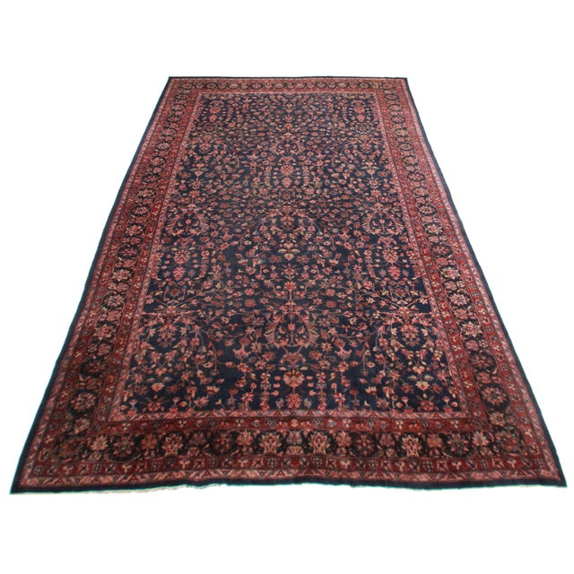 Hand knotted wool Turkish rug with a beautiful floral design. This rug would be a fabulous addition to any home!