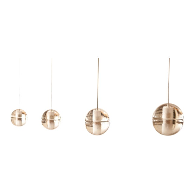 Bocci 14.1 Track Lighting Pendants - Set of 4 For Sale