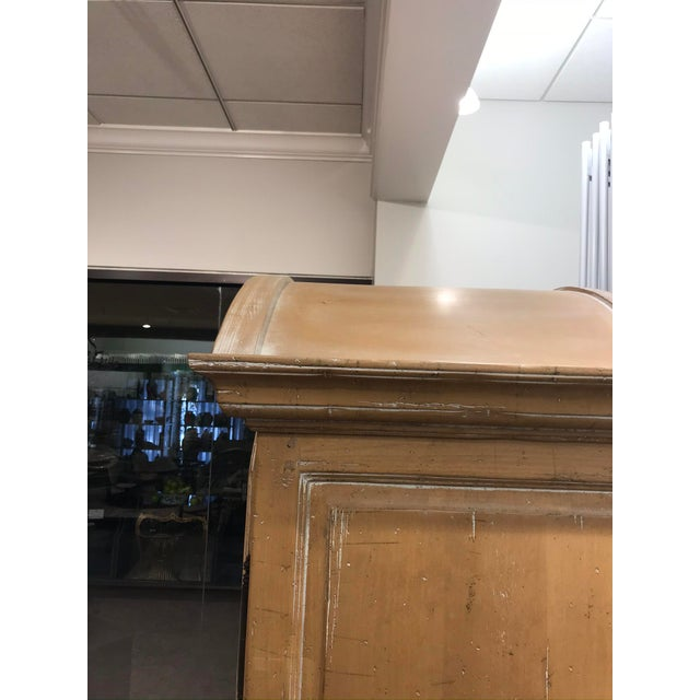 Tan Guy Chaddock Wood Entertainment Cabinet For Sale - Image 8 of 10