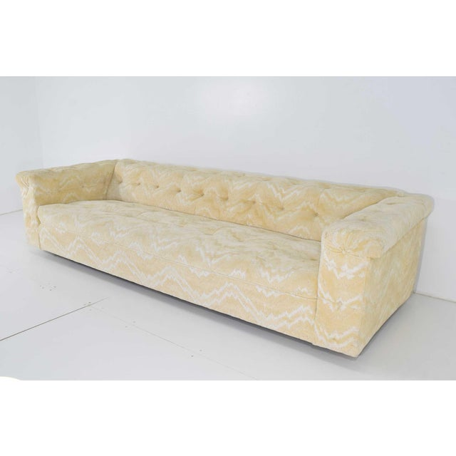 1960s Edward Wormley for Dunbar Party Sofa Model 5407, Pair Available For Sale - Image 5 of 10