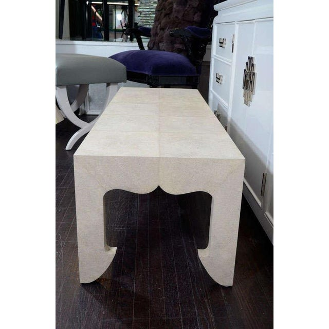Genuine Shagreen Cocktail Table For Sale In New York - Image 6 of 10