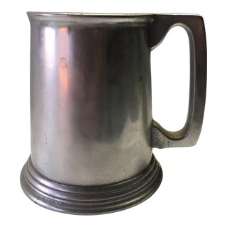 1960s Pewter Noggin' Tankard For Sale
