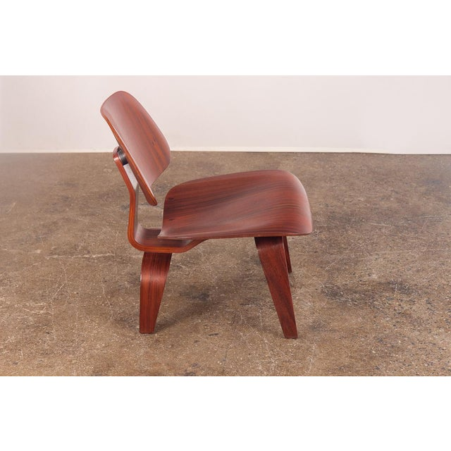 Rare Eames Pre-Production Rosewood LCW - Image 3 of 11