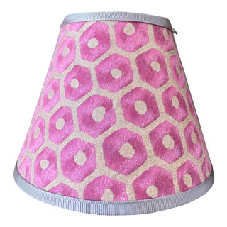 Contemporary Pink Fortuny Nightlight For Sale