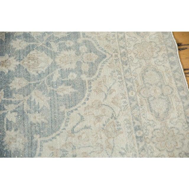 "Vintage Distressed Oushak Carpet - 6'6"" X 9'7"" For Sale - Image 11 of 13"