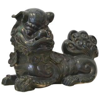 Hollywood Regency Ceramic Foo Dog For Sale