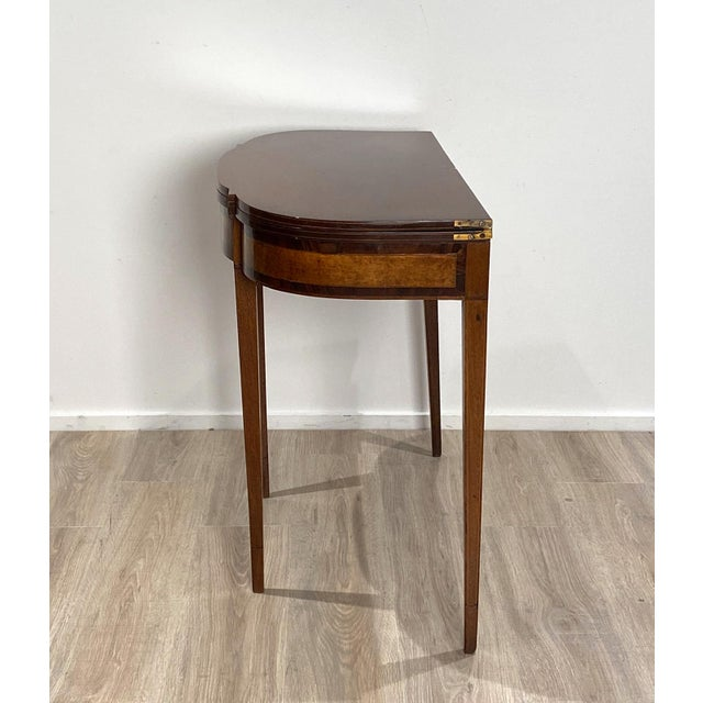 Wood 19th Century American Game Table For Sale - Image 7 of 10