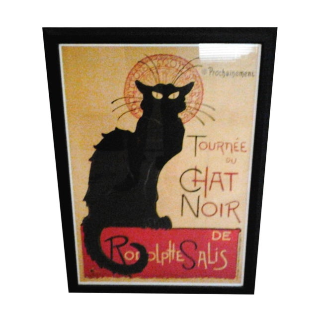"""Tournee Du Chat Noir"", Framed Poster - Image 1 of 6"