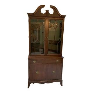Mid-Century Modern Mahogany Hutch For Sale