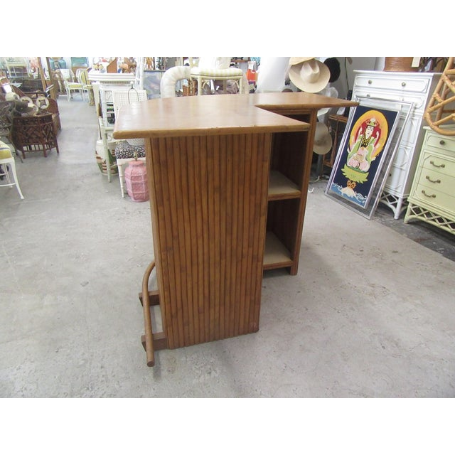 1970s Island Style Bamboo Bar For Sale - Image 4 of 8