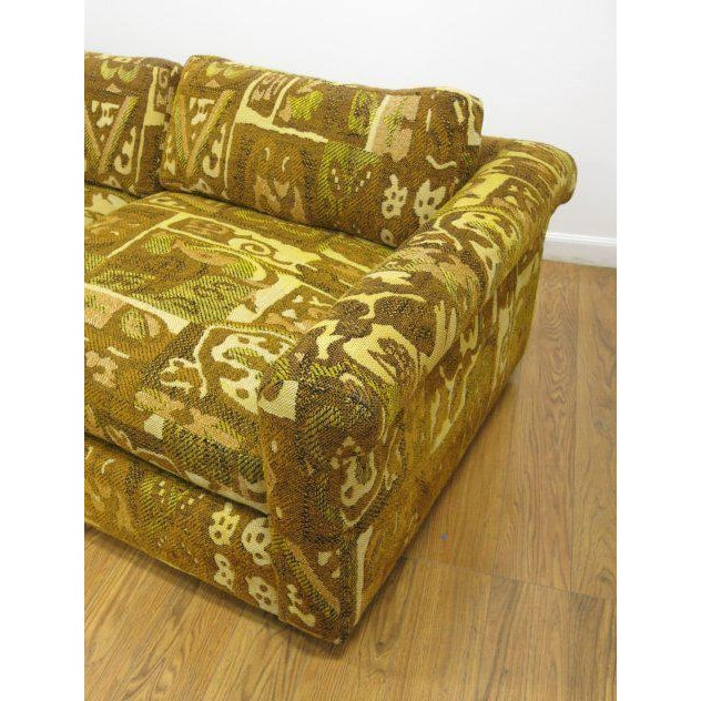 Milo Baughman for Thayer Coggin Abstract Patterned Sofa For Sale - Image 5 of 5