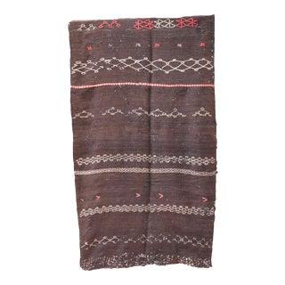 1970s Vintage Kilim Moroccan Rug For Sale
