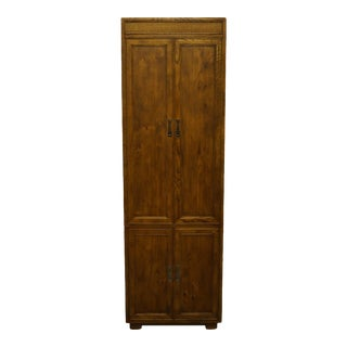 Henredon Furniture Artefacts Collection Pier Cabinet/Wall Unit For Sale