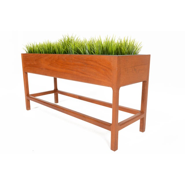 Danish Modern Teak Planter by Askel Kjersgaard For Sale In San Francisco - Image 6 of 8