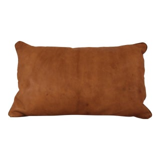 Small Leather Pillow For Sale