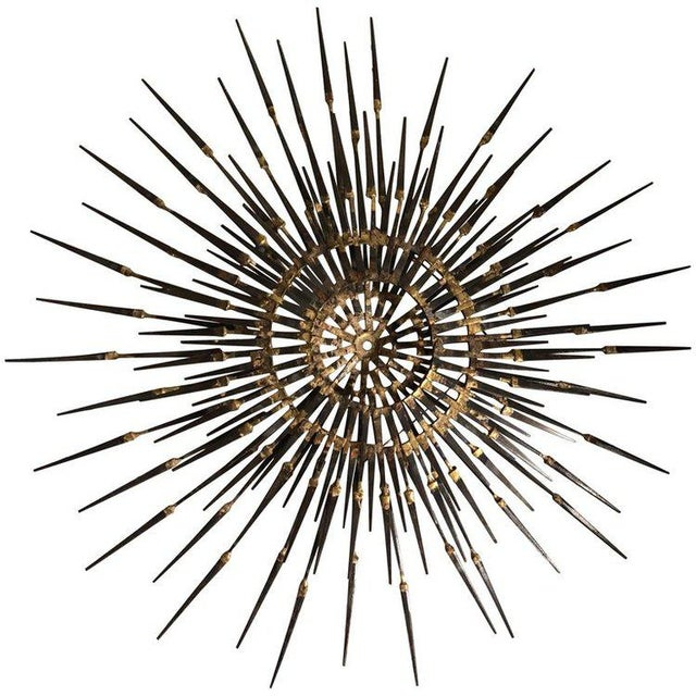 1960s Mid-Century Modern Starburst Sculpture For Sale - Image 11 of 11