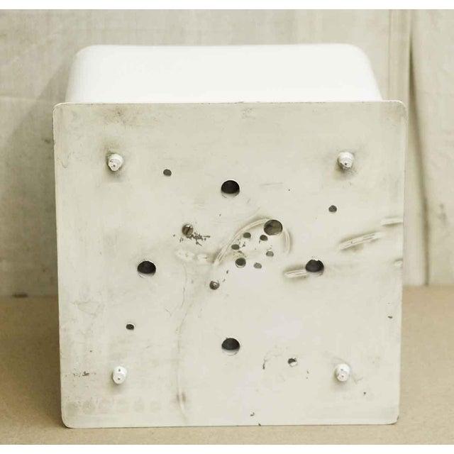 Lumenform White Opaline Semi-Flush Light For Sale In New York - Image 6 of 8