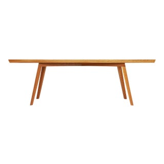 White Oak Modern Bench