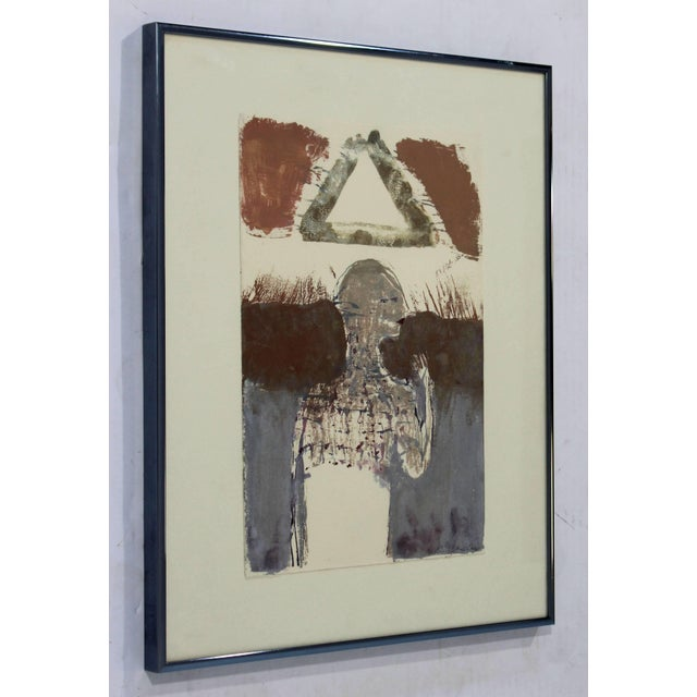 For your consideration is a Surrealist aquatint etching signed by Sean Scully. In excellent condition. The dimensions of...