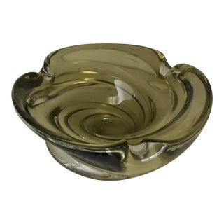 Murano Mid Century Cigar Ashtray For Sale