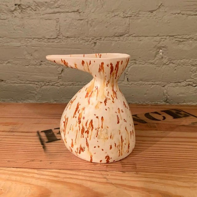 1960s 1960s Mid-Century Modern Art Pottery Decanter Vase For Sale - Image 5 of 7