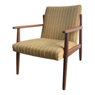 Danish Modern Greta Jalk Lounge Chair For Sale