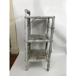 Small Painted Wicker Etagere Preview