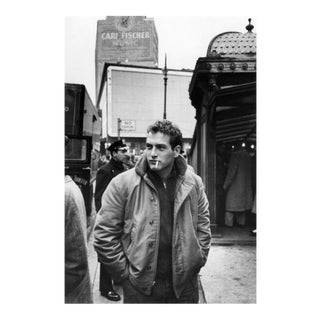 "Sanford Roth 1956 Photo of Paul Newman in New York City . 20"" X 24"" Print (Framed)"