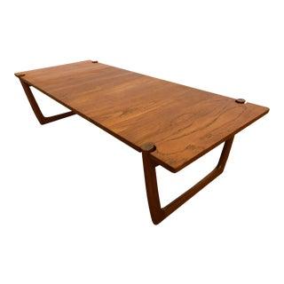 Peter Hvidt / Orla Molgaard Danish Teak Coffee Table For Sale