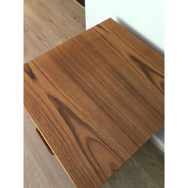 Danish teak filing cabinet by Jesper, quite uncommon. Finished on the back side and with two spacious drawers so can be...
