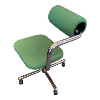 1970s Vintage Contemporary Abstract Desk Chair For Sale