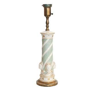 Rembrandt Company Ceramic Regency Lamp