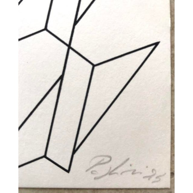 Artist - Giorgio Pagliari Title - Abstract Composition Signed - hand signed below in pencil Edition - Limited Ed 88/350...