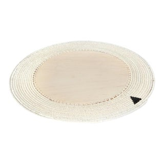 Round Charger Cream For Sale